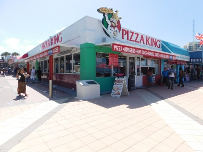 Pizza King from the corner
