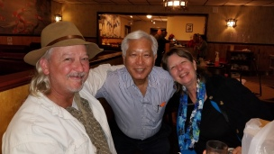 Charlie Cracker, Shamus, and karen