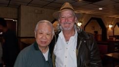 Mr Lee and Charlie Cracker